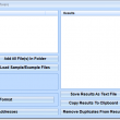 Extract IP Addresses From Text & HTML Files Software 7.0 full screenshot