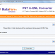 DataVare PST to EML Converter Expert 2.0 full screenshot
