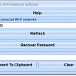 Recover Forgotten WiFi Password Software 7.0 full screenshot