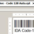 Native Crystal Reports Code 128 Barcode 17.04 full screenshot