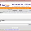 Datavare MSG to MHTML Converter 1.0 full screenshot
