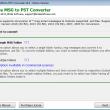 MSG to PST Converter 6.3 full screenshot