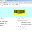 J4L Barcodes 1D for Php 1.3 full screenshot
