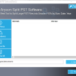 Outlook PST Splitter 17.0 full screenshot