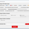 CubexSoft Zimbra to PDF Export 1.0 full screenshot