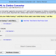 EML File to Zimbra Converter 3.0 full screenshot