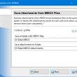Save Attachments from MBOX Files 4.9 full screenshot