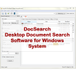 VeryUtils DocSearch 2.3 full screenshot