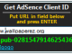 Get AdSense Client ID 1.1 full screenshot