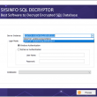 SQL Decryptor Tool 19.0 full screenshot