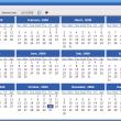 Portable AMP Calendar 2.42 full screenshot