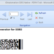 PDF417 2D SSRS Barcode Script 17.07 full screenshot