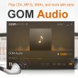 GOM Audio 2.2.26.0 full screenshot
