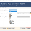 Convert MSG to PST 6.0 full screenshot