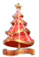 Golden Christmas Tree 1.0 full screenshot