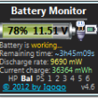Battery Monitor 7.4 full screenshot