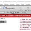 Code 39 Filemaker Barcode Generator 18.03 full screenshot