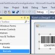 .NET Windows Forms Barcode Control DLL 21.04 full screenshot
