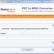 DataVare PST to MSG Converter Expert 1.0 full screenshot