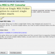 Batch MSG to PST Converter 6.6.1 full screenshot