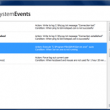 BDV SystemEvents 1.3 full screenshot