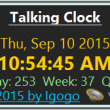 Talking Clock 2.9 full screenshot