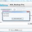 Softaken AOL Backup 1.0 full screenshot