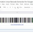 Sheets GS1 128 Barcode Script for Google 21.06 full screenshot