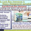 Daily Cash flow Statement spreadsheet 03.1 full screenshot