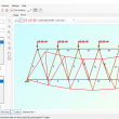 2D Frame Analysis Truss Edition 5.9 full screenshot
