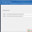 SQL Log Analyzer tool 19.0 full screenshot