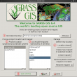 Grass GIS for Linux 7.6.1 full screenshot