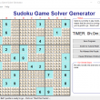 Sudoku Game Solver Generator for Windows 1.0.0 full screenshot