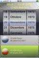 No Birthday for iPhone 1.0 full screenshot
