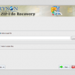 Aryson ZIP File Repair 17.0 full screenshot