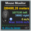 Mouse Monitor 4.9 full screenshot