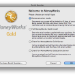 MoneyWorks Cashbook for Mac OS X 8.2.2 full screenshot