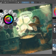 Krita for Mac OS X 4.4.1 full screenshot