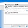 Export Messages to EML Files 4.10 full screenshot