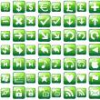 Green Web Buttons 1.0 full screenshot