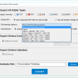 MailSouls Zimbra TGZ Converter 2.0 full screenshot