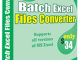 Batch Excel File Converter 4.6.2.6 full screenshot