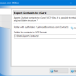 Export Contacts to vCard for Outlook 4.16 full screenshot