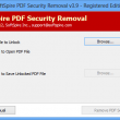 Software4Help PDF Security Removal 4.0.1 full screenshot