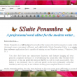SSuite Penumbra Editor 14.8.4 full screenshot