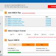 MBOX to PDF Converter 1.0 full screenshot