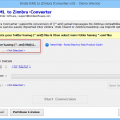 Windows Live Mail to Zimbra 3.0.1 full screenshot