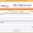 DataVare EML to MSG Converter Expert 1.0 full screenshot