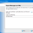 Export Messages to HTML for Outlook 4.8 full screenshot