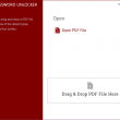 Free PDF Password Unlocker 2.0.2 full screenshot